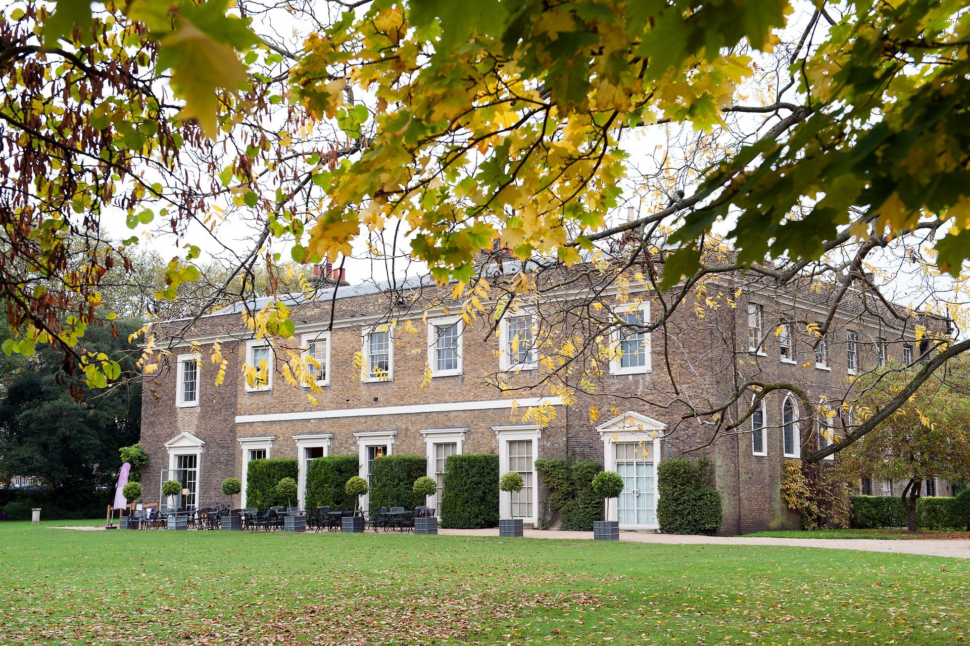 Fulham Palace in Autumn