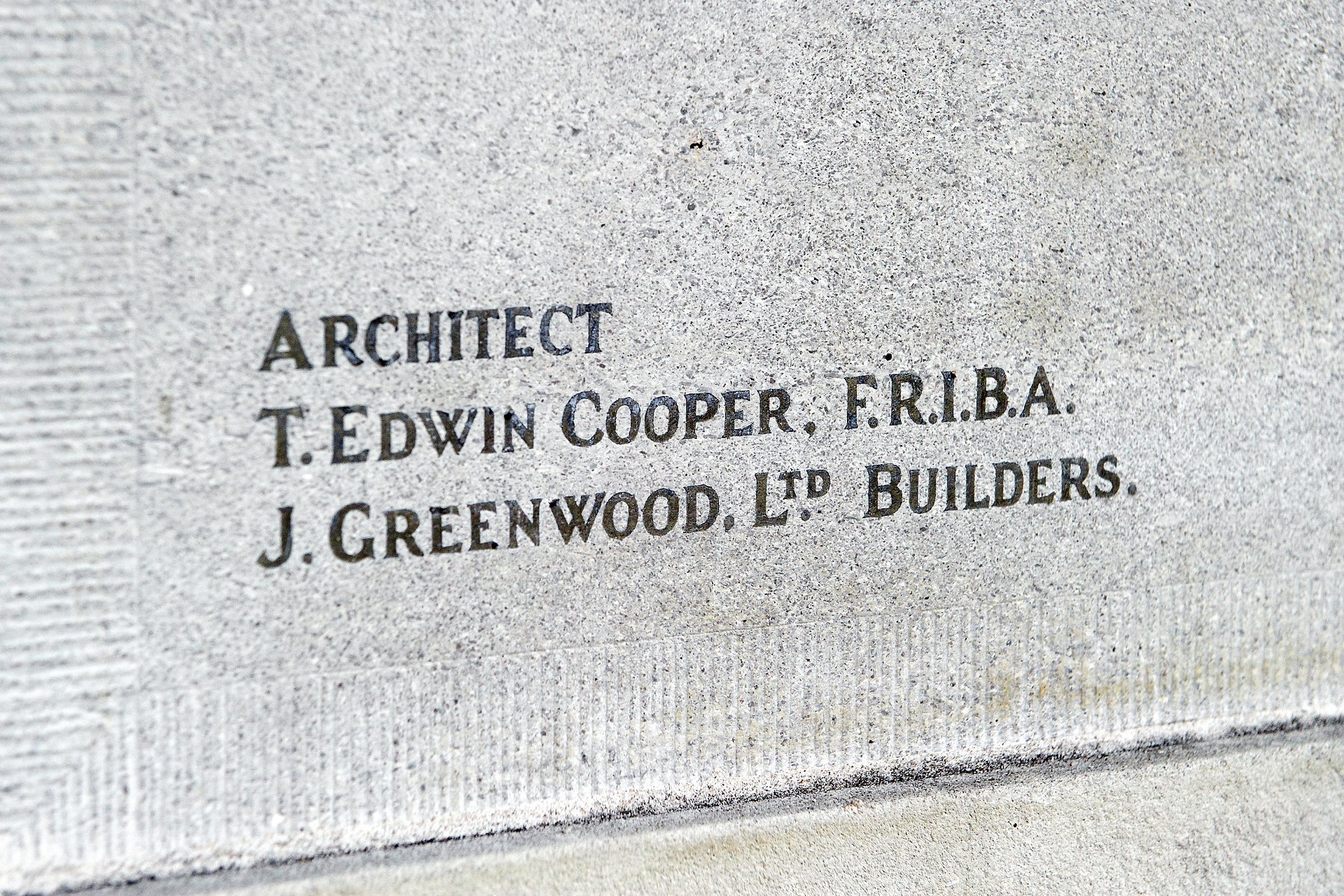 Edwin Cooper architect of Old Marylebone Town Hall