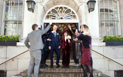 Phoenix Pub Chelsea Wedding Photographer