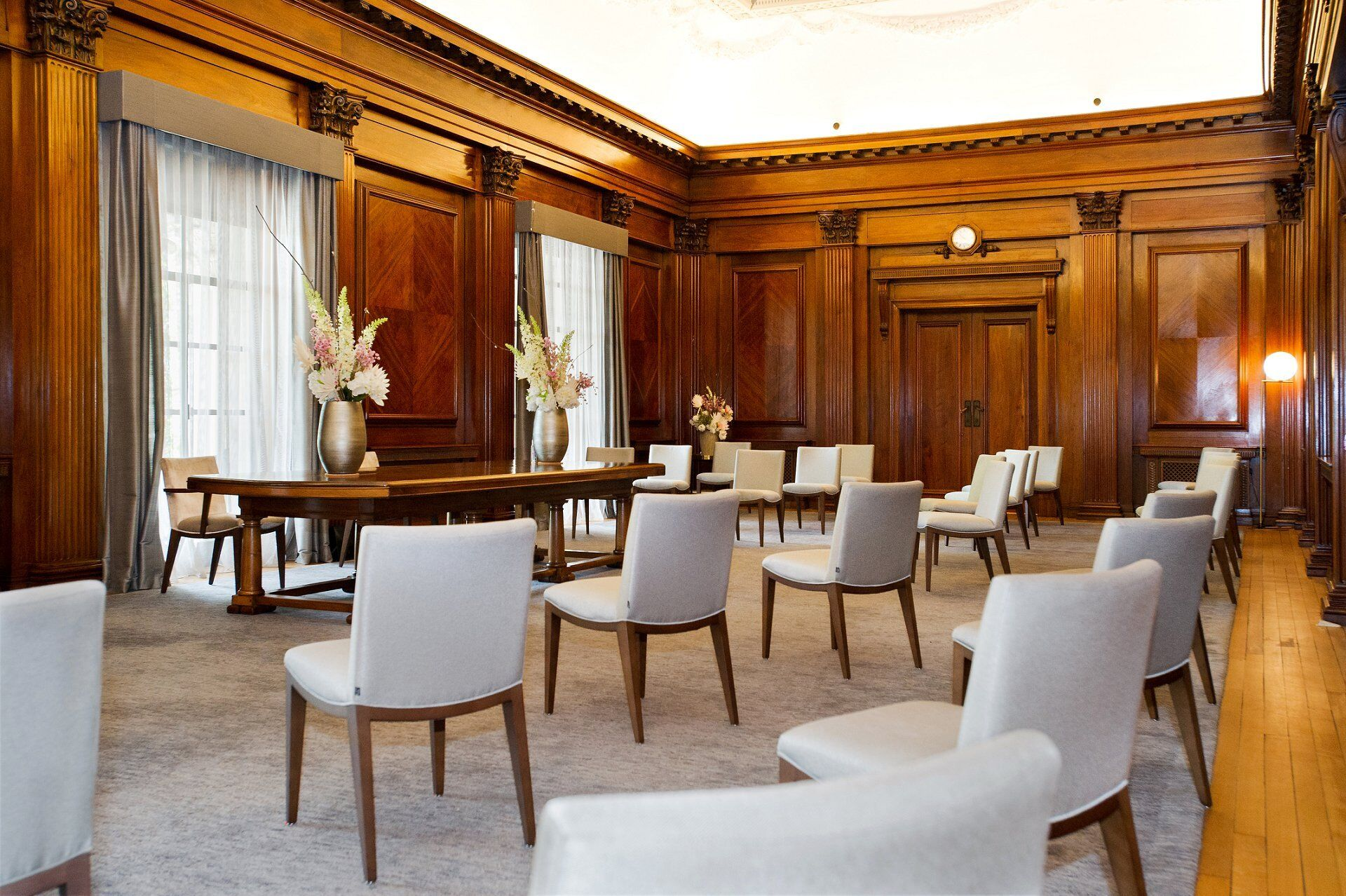 including your photographer and any musicians you can now have 26 guests at your old marylebone town hall cerermony