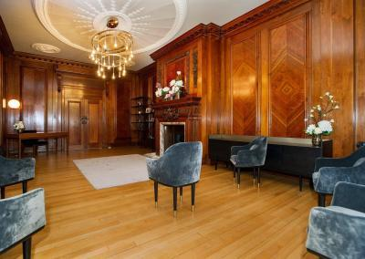seen from the back of the room the paddington room at old marylebone town hall is going to be really popular for small intimate weddings