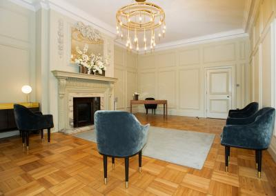 the pimlico room retains its intimate feel